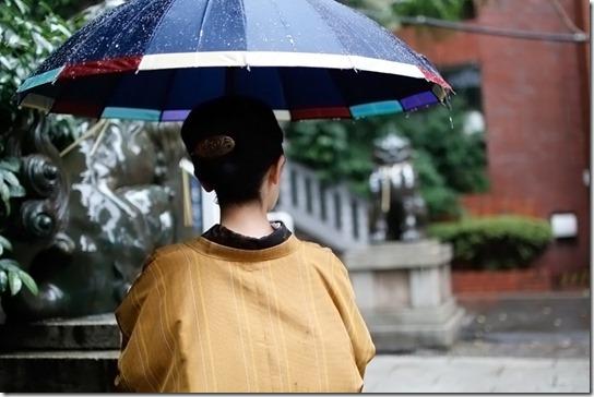 きもの用雨コートを一挙公開!