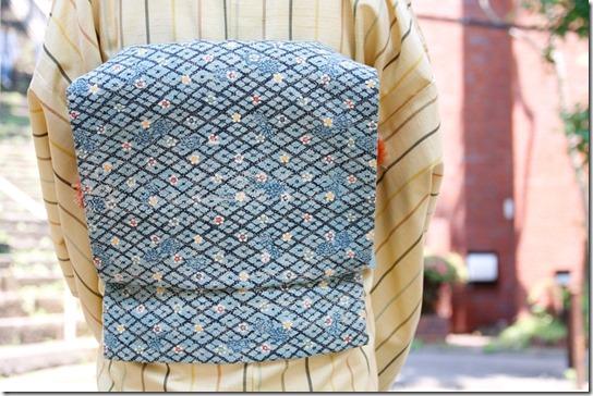 鎌倉芳太郎の帯