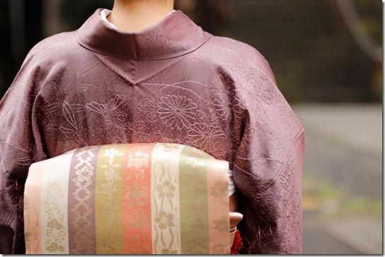 刺し子刺繍の訪問着と加賀友禅のコート