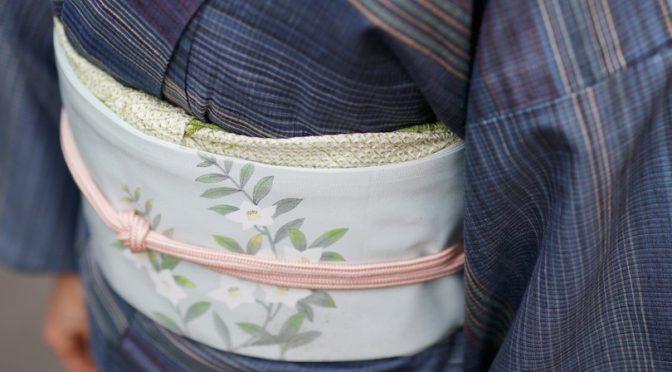紬の着物に合わせる帯