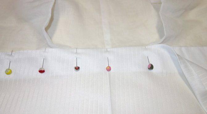 衿のラインがきれいになる「バイアス半衿」レビュー