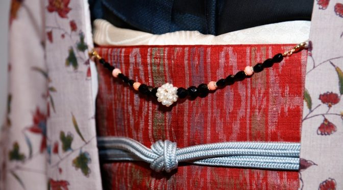 羽織と羽織紐を楽しむ