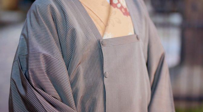 袴地の道行きコート